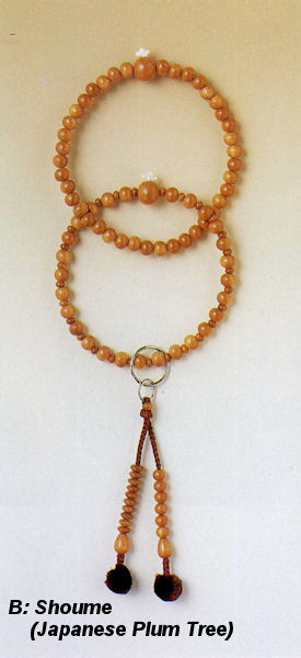 how to hold juzu beads